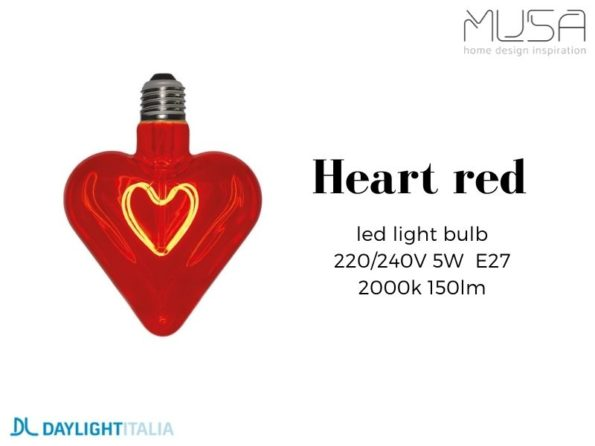 110037 heart red