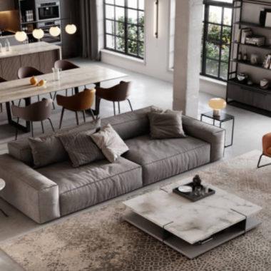 3 consigli per arredare il soggiorno moderno dei tuoi sogni.